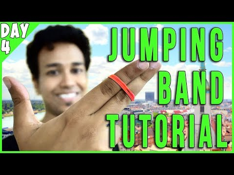 Jumping Rubberband Trick Tutorial in Budapest!