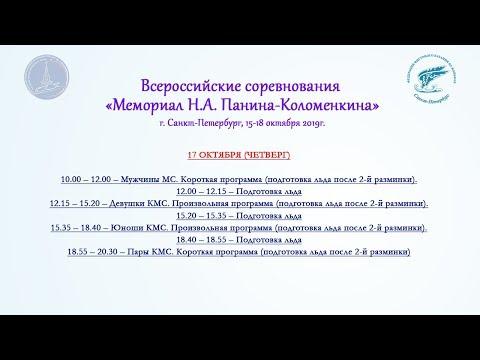 Всероссийские соревнования «Мемориал Н.А. Панина-Коломенкина», 17.10.2019, Санкт-Петербург