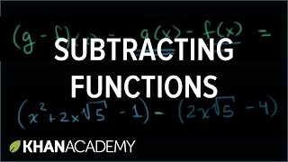 Difference of Functions