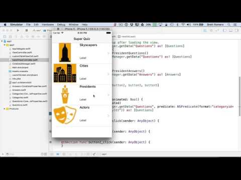 Learn To Build Your First Professional iOS App - Load Data in Detail View