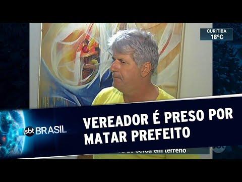 Vereador suspeito de matar prefeito é preso no interior de Minas Gerais