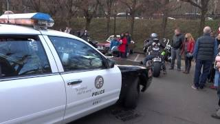preview picture of video 'Police US Téléthon 2014 Bougival'