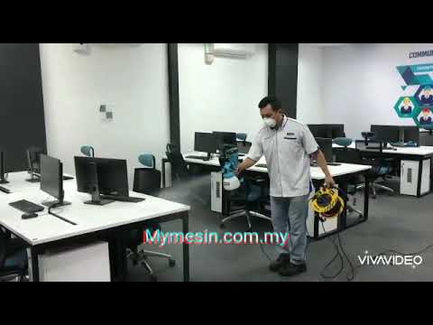 Haupon Electric Spray Gun ft Sihat Virucidal Disinfectant