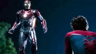 Spiderman Meeting With Tony Stark | Spider Man Homecoming Funny Scene in hindi