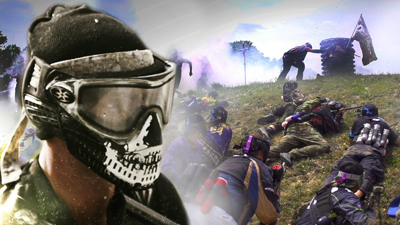 This 2000-Player Paintball Battle Is The Craziest Thing You'll Watch All Day