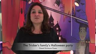 The Trickers Halloween party