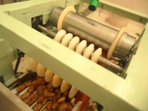 Maquina peladora de habas y granos remojados