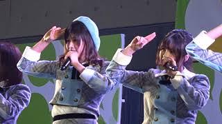 生きることに熱狂を! 思春期のアドレナリン 星空を君に 制服の羽根(AKB48 team8 中テレ祭り2018 20180324 ビッグパレットふくしま)