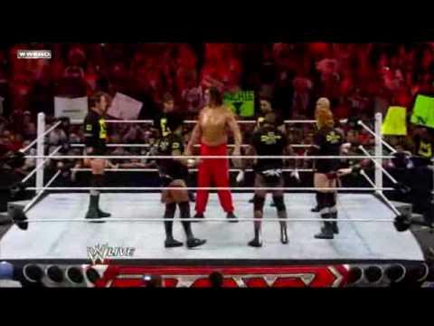 WWE- Raw Edge vs The Great Khali 7/26/10