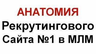 Анатомия Рекрутингового Сайта №1 в МЛМ
