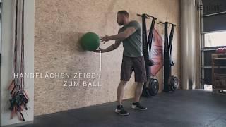 Full Rotations Tutorial - Medizinball Training   HEARTCORE Athletics
