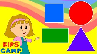 Learn about Shapes with Elly - Fun & Educational for Babies, Toddler, Kindergarten Kids