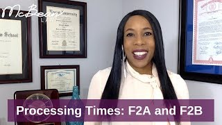 IMMIGRATION CASE PROCESSING TIME: Green Card Holder Filing For Spouse & Children (2018)