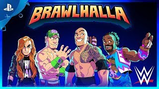 Brawlhalla - WWE Superstars Crossover Trailer | PS4