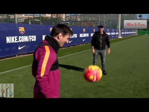 Lionel Messi In Training-Freestyle-Skills-Tricks