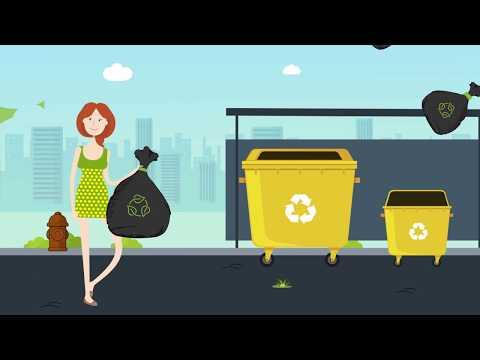 Схема обращения твердых коммунальных отходов