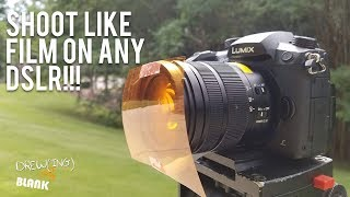 Shoot Like Film On Any DSLR or Camera | Drew(ing) A Blank