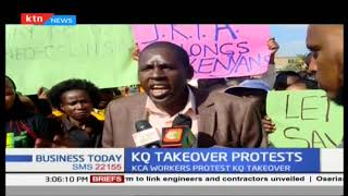 Aviation workers issue 7-day strike notice over KQ's plan to take over JKIA