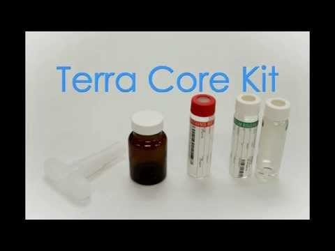 Terra Core Kit Soil Sampling - Volatile Organics