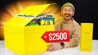 I Bought A $2,500 CyberPunk 2077 Tech Box!!