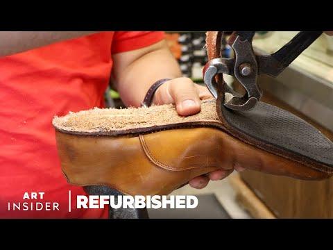 Professionally Restoring Men's Dress Shoes
