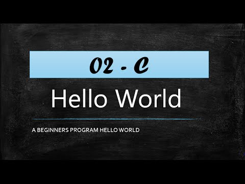 C-Programming Hello World Program Dev C++ (HINDI)