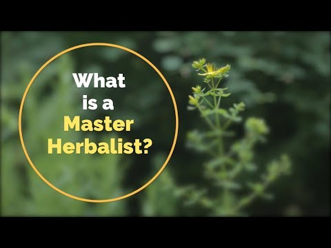 What is a Master Herbalist? - YouTube
