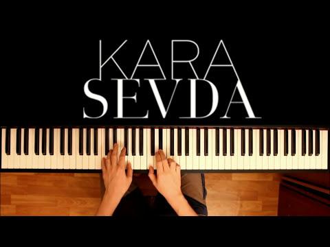 """мелодия из сериала """"Черная любовь"""" на пианино #1   """"Kara Sevda"""" OST - """"Anlatamam"""" Piano Cover"""