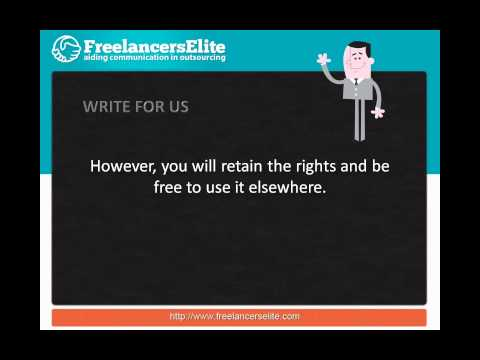 Write For Us At FreelancersElite