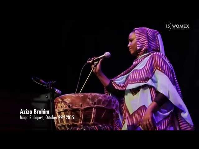 Aziza Brahim at WOMEX 15