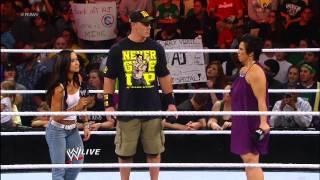 John Cena and Dolph Ziggler trade heated words: Raw, Nov. 26, 2012