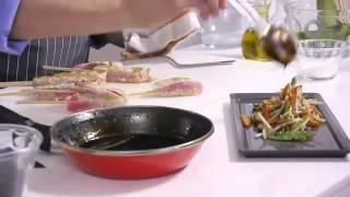 Tu cocina - Atún con reducción de balsámico y verduras asiáticas