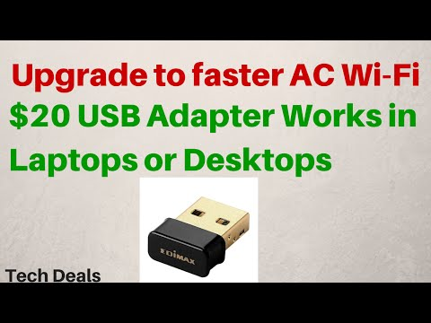 $20 USB WiFi Adapter – AC Wireless – 802.11ac – Review