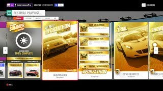 WHAT IS THE FESTIVAL PLAYLIST AND HOW TO GET 100% COMPLETE | Forza Horizon 4