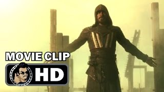 ASSASSINS CREED Movie Clip  Leap Of Faith 2016 Michael Fassbender SciFi Action Movie HD