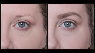 HOW TO FILL IN SPARSE EYEBROWS