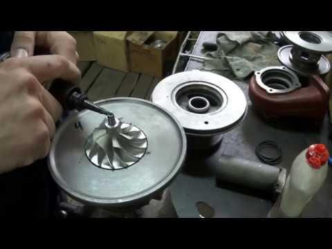 Ремонт турбокомпрессора ТКР 6