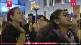 Protests held across Spain against gender violence