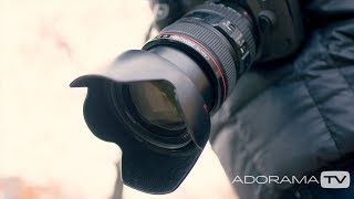 Lens Hoods: Two Minute Tips with David Bergman