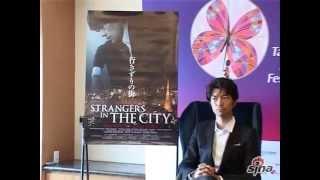 仲村亨來台說中文,台北電影節和主席張艾嘉頒獎