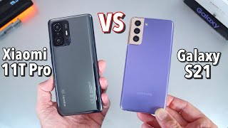 Is the Xiaomi 11T Pro better than the Samsung Galaxy S21 5G? Let's Find out!