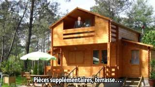 preview picture of video 'Chalet en kit Chambéry'