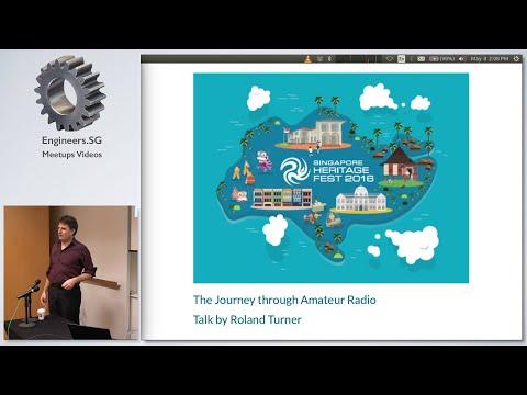 The Journey through Amateur Radio - Singapore Heritage Festival