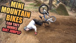 MINI MOUNTAIN BIKES - CAN THEY HANDLE DIRT JUMPS?