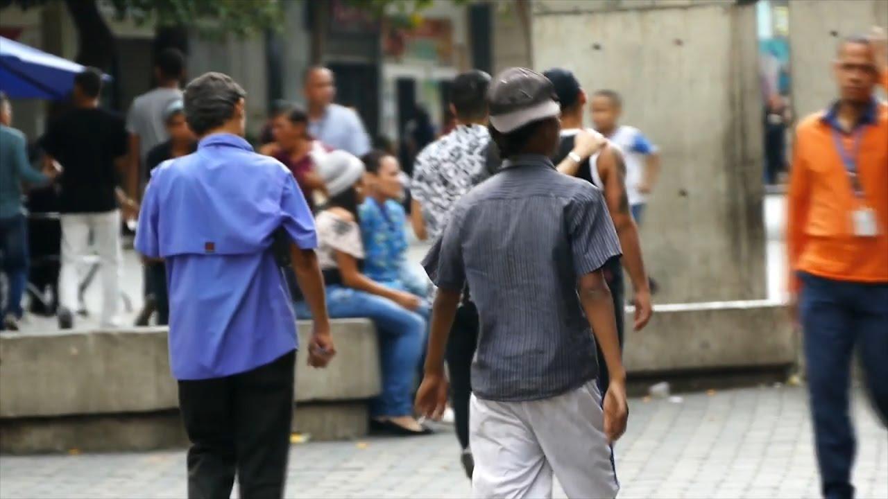 Niños de la calle siembran terror en Caracas