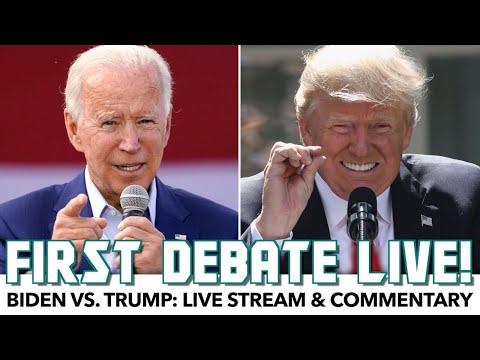 Joe Biden vs. Donald Trump | First Debate | Rational Live!