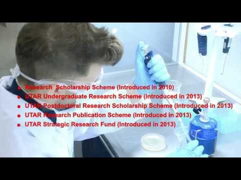 UTAR Research & Development, Institute of Postgraduate Studies and Research (2017)