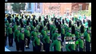 preview picture of video 'LHSBand at Savannah's St Pat's Parade 2015'
