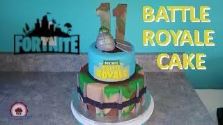 Fortnite Birthday Cake - Battle Royal