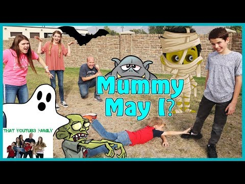 Mother May I Halloween - Mummy May I / That YouTub3 Family I Family Channel